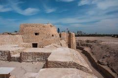 Οχυρό Al Μπαχρέιν Qal'At, νησί του Μπαχρέιν Στοκ Εικόνα