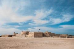 Οχυρό Al Μπαχρέιν Qal'At, νησί του Μπαχρέιν Στοκ φωτογραφία με δικαίωμα ελεύθερης χρήσης