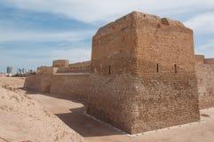 Οχυρό Al Μπαχρέιν Qal'At, νησί του Μπαχρέιν Στοκ εικόνα με δικαίωμα ελεύθερης χρήσης