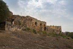 Οχυρό Antipatris στο εθνικό πάρκο Yarkon Στοκ εικόνες με δικαίωμα ελεύθερης χρήσης