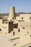 Οχυρό Bahla στο Ομάν στοκ φωτογραφία με δικαίωμα ελεύθερης χρήσης