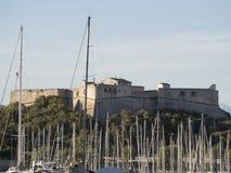 Οχυρό Carré, Αντίμπες, Γαλλία Στοκ φωτογραφίες με δικαίωμα ελεύθερης χρήσης