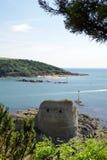 Οχυρό Charles, Salcombe, Devon, Στοκ φωτογραφίες με δικαίωμα ελεύθερης χρήσης