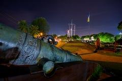 Οχυρό Cornwallis στην Τζωρτζτάουν στοκ εικόνα με δικαίωμα ελεύθερης χρήσης