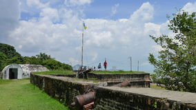 Οχυρό Cornwallis Στοκ Φωτογραφίες