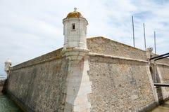 Οχυρό DA Bandeira Ponta - Λάγκος - Πορτογαλία στοκ εικόνες με δικαίωμα ελεύθερης χρήσης