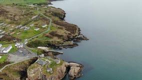 Οχυρό Dunree στο κεφάλι Dunree στην Ιρλανδία απόθεμα βίντεο