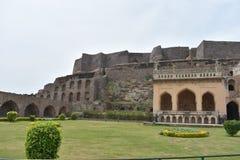 Οχυρό Hyderabad Golkonda στοκ εικόνες με δικαίωμα ελεύθερης χρήσης
