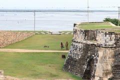 Οχυρό Jaffna στη Σρι Λάνκα στοκ φωτογραφία