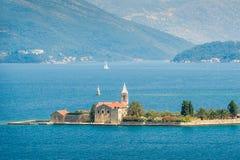 Οχυρό Mamula, φρούριο στο νησί, Μαυροβούνιο Στοκ Φωτογραφίες
