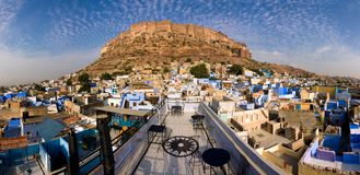 οχυρό meherangarh στοκ φωτογραφία με δικαίωμα ελεύθερης χρήσης