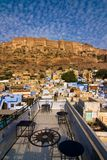 οχυρό meherangarh στοκ εικόνα με δικαίωμα ελεύθερης χρήσης