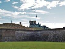 Οχυρό Moultrie στο νησί του Sullivan ` s Στοκ Φωτογραφίες