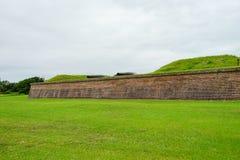 Οχυρό Moultrie στο Τσάρλεστον, νότια Καρολίνα Στοκ εικόνες με δικαίωμα ελεύθερης χρήσης