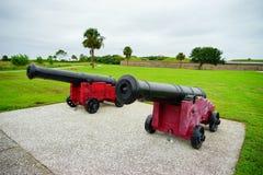 Οχυρό Moultrie στο Τσάρλεστον, νότια Καρολίνα Στοκ Εικόνα