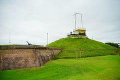 Οχυρό Moultrie στο Τσάρλεστον, νότια Καρολίνα Στοκ Φωτογραφίες