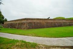 Οχυρό Moultrie στο Τσάρλεστον, νότια Καρολίνα Στοκ φωτογραφίες με δικαίωμα ελεύθερης χρήσης