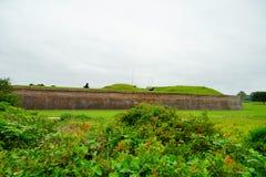 Οχυρό Moultrie στο Τσάρλεστον, νότια Καρολίνα Στοκ Εικόνες