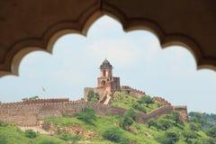 Οχυρό Nahargarh. Στοκ Εικόνα