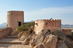 οχυρό nakhal στοκ φωτογραφία