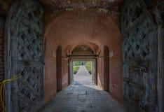 Οχυρό Pulaski κοντά στο νησί Tybee Στοκ Εικόνες