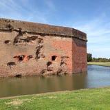 Οχυρό Pulaski Στοκ εικόνα με δικαίωμα ελεύθερης χρήσης