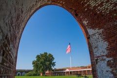 Οχυρό Pulaski Στοκ Εικόνες