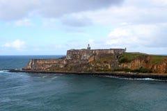 Οχυρό SAN Felipe Del Morro Στοκ φωτογραφία με δικαίωμα ελεύθερης χρήσης
