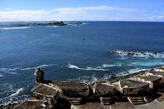 Οχυρό San Juan Πουέρτο Ρίκο EL Morro Στοκ εικόνες με δικαίωμα ελεύθερης χρήσης