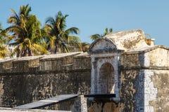 Οχυρό San Juan de Ulua στην πόλη της Βέρακρουζ Στοκ Εικόνες