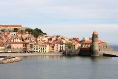 Οχυρώσεις Collioure Στοκ Εικόνα