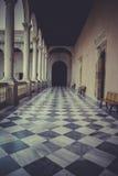 Οχύρωση, εσωτερικό παλάτι, Alcazar de Τολέδο, Ισπανία Στοκ φωτογραφία με δικαίωμα ελεύθερης χρήσης