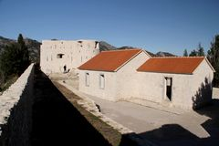 Οχύρωση Besac Στοκ εικόνα με δικαίωμα ελεύθερης χρήσης
