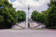 Ο άγγελος ειρήνης στην πόλη του Μόναχου στοκ φωτογραφία με δικαίωμα ελεύθερης χρήσης