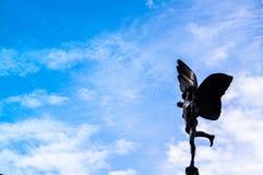 Ο άγγελος της πηγής Picaddilly στοκ φωτογραφία με δικαίωμα ελεύθερης χρήσης