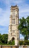 Ο Άγιος Ζακ Tower στο κέντρο του Παρισιού Στοκ Φωτογραφίες