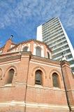 Ο Άγιος Joseph Cathedral και καθεδρικός ναός Plaza Στοκ φωτογραφία με δικαίωμα ελεύθερης χρήσης