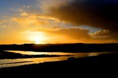 Ο άνεμος ποταμός Στοκ Φωτογραφίες