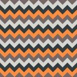 Ο άνευ ραφής διανυσματικός ζωηρόχρωμος πορτοκαλής μπεζ λευκός Μαύρος γεωμετρικού σχεδίου βελών σχεδίων σιριτιών Στοκ Εικόνες