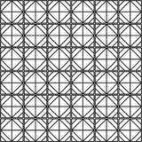 Ο άνευ ραφής Μαύρος - άσπρη γεωμετρική περίληψη σχεδίων ελεύθερη απεικόνιση δικαιώματος