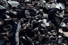 Ο άνθρακας τεμαχίζει τη λεπτομέρεια στοκ εικόνα με δικαίωμα ελεύθερης χρήσης