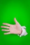ο άνθρωπος χεριών Στοκ Εικόνα
