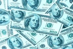 Δολάρια για την ανασκόπηση Στοκ εικόνα με δικαίωμα ελεύθερης χρήσης
