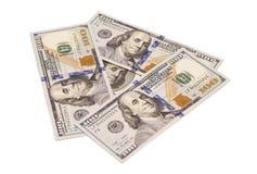 δολάριο εκατό τραπεζογραμματίων ένα Στοκ φωτογραφία με δικαίωμα ελεύθερης χρήσης