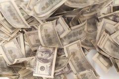 δολάριο εκατό τραπεζογραμματίων ένα Στοκ Φωτογραφία