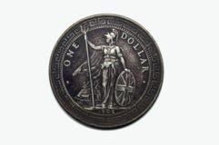 δολάριο νομισμάτων ένα Στοκ Φωτογραφίες