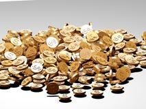 δολάριο νομισμάτων Απεικόνιση αποθεμάτων