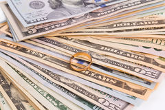 δολάριο λογαριασμών Στοκ εικόνα με δικαίωμα ελεύθερης χρήσης