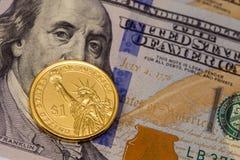 δολάριο Στοκ εικόνα με δικαίωμα ελεύθερης χρήσης