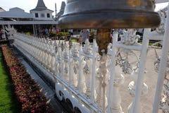 Ο άσπρος ναός Στοκ Εικόνες